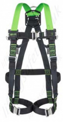 Miller H-Design 2 Point Harness with Automatic Buckles & 2 Webbing Loops
