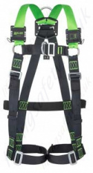 Miller H-Design 2 Point Harness with Mating Buckles & Front D-Ring