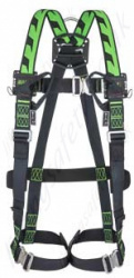 Miller H-Design Duraflex 2 Point Harness with Mating Buckles & 2 Webbing Loops