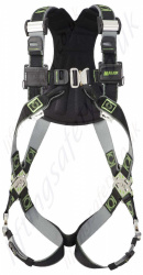 "Miller R2 Revolution DualTech 2 Point ""Comfort"" Fall Arrest Harness with Rear 'D' Ring & Front Webbing Loops"