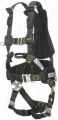 "Miller ""R7 WIND 2"" Revolution 2 Point Fall Arrest Harness, Front and Rear Anchorage (front webbing loops) and Work Positioning side D-rings"