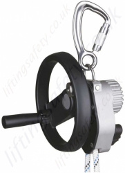 "Miller ""Safescape ELITE with hoist and handle "" Rescue Descender, Optional Rope Lengths Available"