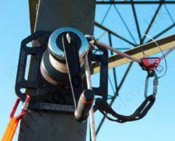 500kg Rigging Winch Mounted On Pylon