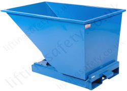 Roll Forward Fork Lift Truck Tilting Skips, Capacity 1200kg to 2000kg, Different Size Options Available
