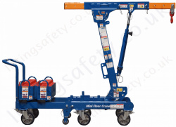 Counter Balance Mini Floor Cranes with Telescopic Boom, Capacity up to 900kg