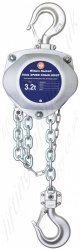 William Hackett Dual Speed Hand Chain Hoist, Top Hook Suspended - Range from 3.2 tonne  to 50 tonne