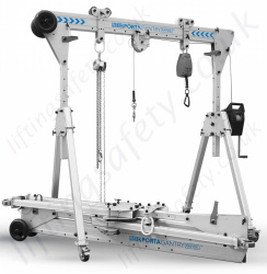 "Reid ""PortaGantry Rapide"" Multi Purpose Lightweight Aluminium A-Frame Gantries, Capacity Range up to 1000kg"
