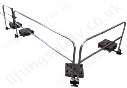 Tractel Guard Trac™ Stand Alone Safety Rail / Barrier