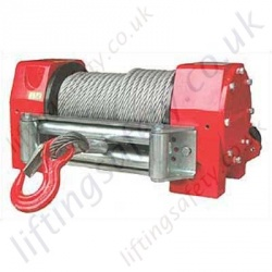 "Superwinch ""H14W"" Hydraulic Heavy Duty Wire Rope Recovery Winch for pulling Applications - 6350kg"