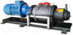 Heavy Duty Electric Pulling Winch, with Freespool 110v, 240v or 415v, 2000kg Line Pull