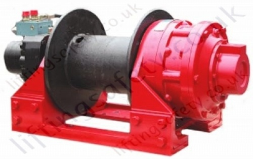 High Capacity Hydraulic Winch for Recovery