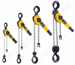 "Yale ""UNOplus Series A"" Ratchet Lever Hoist - Pull-Lift Range from 750kg to 6000kg"