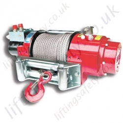 "Superwinch ""H8P"" and ""H10P"" Hydraulic Recovery Wire Rope Winch, Low Profile for Pulling Applications - 3630kg or 4540kg"