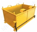 Fork Truck Mounted Manual Base Emptying Stillages 500 Litre to 1500 Litres - 1000kg to 1500kg