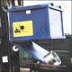 Auto Dumping Box Fork Truck Attachments. 500 Litres to 2000 Litres - 1000kg to 1500kg