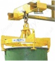 "Fork Truck Mounted (and Crane Mounted) ""Semi Automatic"" Drum Lifting Device - 500kg or 1000kg"