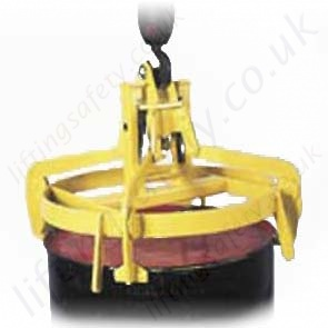 Overhead Crane Hook Suspended Quot Fully Automatic Quot Drum Tongs