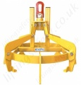 "Overhead Crane Hook Suspended ""Fully Automatic"" Drum Tongs Lifter - 360kg, 500kg or 1000kg"