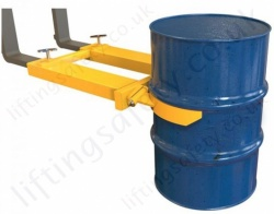 Automatic Drum Grab, Fork Truck Attachment to Suit 1 or 2 Drums - 250kg to 1000kg