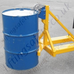 Rim Grip Drum Handler Fork Truck Attachment to Suit 1, 2 or 3 Drum  lifting - Range from 750kg to 2250kg