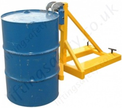 Rim Grip Drum Handler Fork Truck Attachment to Suit 1 or 2 Drum lifting - Range from 750kg to 2250kg