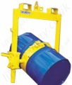 Top Mount Fork Truck Mounted  And Crane Slung  Drum Rotator-