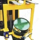 Fork Truck Mounted (and Crane Slung) 110 Litre Drum Rotator Designed for Pouring Liquids. Rotation By loop Chain or Crank Handle  - 200kg