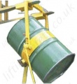 Fork Lift Truck (and Overhead Crane Slung) Capstan Operated Crane Slung Drum Rotator - 250kg