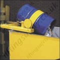 Fork Truck Mounted Drum Dumper Solution for Waste Removal / Transfer - 500kg