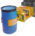 "Fork Truck Mounted ""Grip and Tip Function"" Hydraulic Operated Drum Handler c/w On-Board Hydraulics  - 900kg"