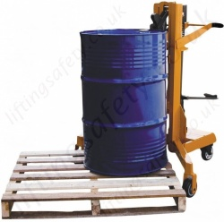 Steel Drum Pallet Loader