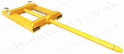 Fork Lift Truck Low Profile Boom Attachment - To Suit Your Requirements