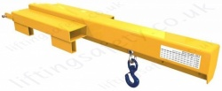 "Fork Truck Mounted ""Low Liner"" Jib Lifting Attachment - Range from 230kg to 4400kg"