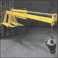 "Fork Lift Truck Tine Mounted Hydraulic Ram Operated Telescopic ""Extender"" Jib Attachment - Range From 210kg to 1000kg"