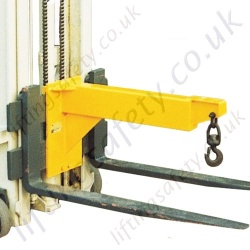 Fork Lift Truck Carriage Mounted Economy Lifting Jib - Range From Range From 200kg to 3000kg