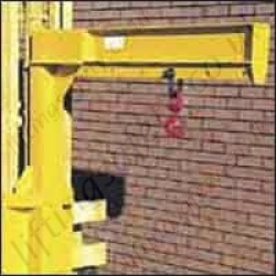 Carriage Mounted Fixed Length High Lift Jib Attachment. Hook position Adjustable - Range From 200kg to 5000kg