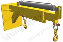 Carriage Mounted Telescopic Extender Jib. Telescopic Action By Hydraulic Ram - Range From 210kg to 1600kg