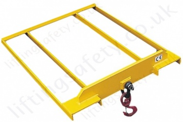 Fork Truck Tine Fixed Hook