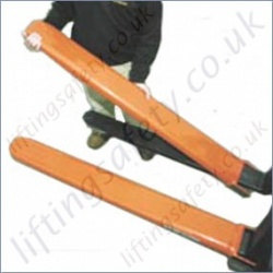 Fork Truck Tine Protection Sleeves - 1.3m to 1.9m