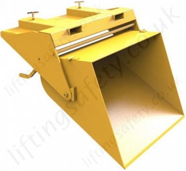 Fork Lift Manual Bucket Scoop