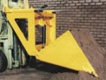 Fork truck Mounted Hydraulic Super Scoop Attachments. 200 litres or 500 litres - Range from 1500kg to 2000kg
