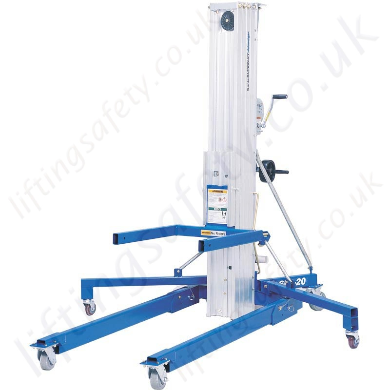 Steel Lift Arm : Genie superlift sla materials lifter with standard and