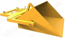 Fork Truck Calibrated Scoop Bucket