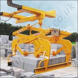 Mechanical Scissor Grabs For Crane or Fork Truck - Range from 100kg to 1500kg