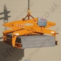 632469 - Single layer kerb lifter designed to lift heavy kerbs width ways