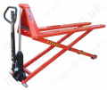 High Lift Pallet Trucks. Manual Operation. Capacity up to 1500kg, 800mm Lift Height