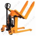Tilting Pallet Truck (Backwards tilting) With Vertical Lift of 285mm. Forks 560mm x 1138mm - 1000kg