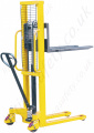 Hand Stacker Trucks -  Lifting Capacity Options 500kg to 2000kg, and Lifting Height Options from 1500mm to 2500mmt
