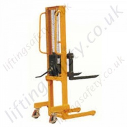 Winch Stacker Truck - 500kg Lifting Capacities. 1560mm Lift Height.