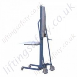 Manual Work Positioner - 200kg Capacity, 1500mm Lift Height